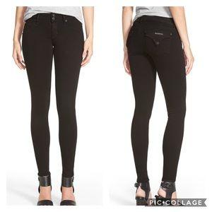 Hudson | Collin Skinny Jeans Solid Black